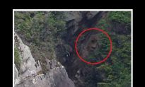 Mysterious, Giant Face Found on Cliff in Canada—Man-Made or Natural?