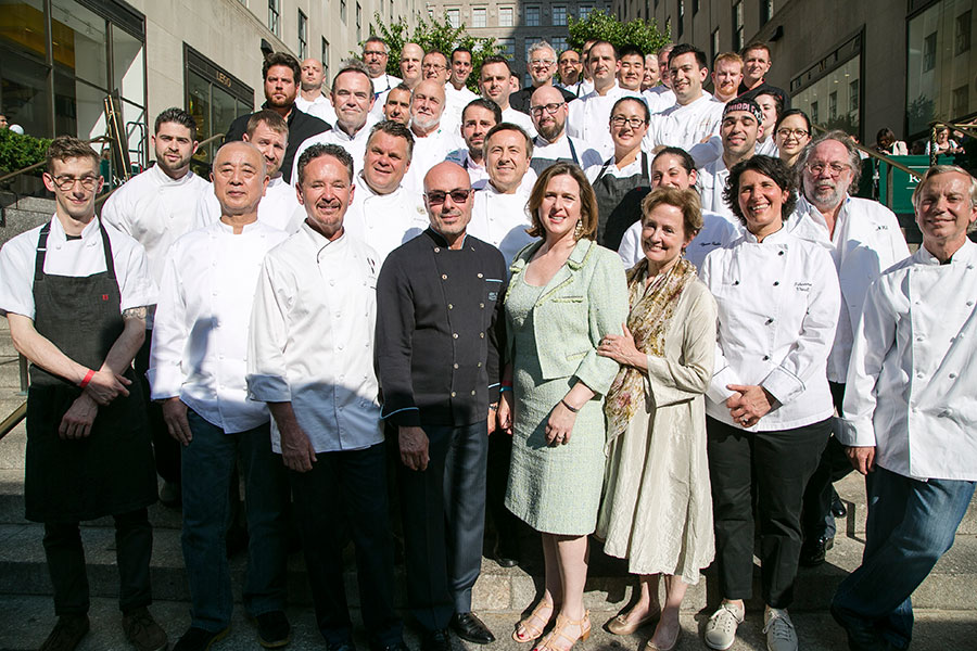 Chefs' Class Photo at Cheftopia 2015. (Jan Jeklielek/Epoch Times)