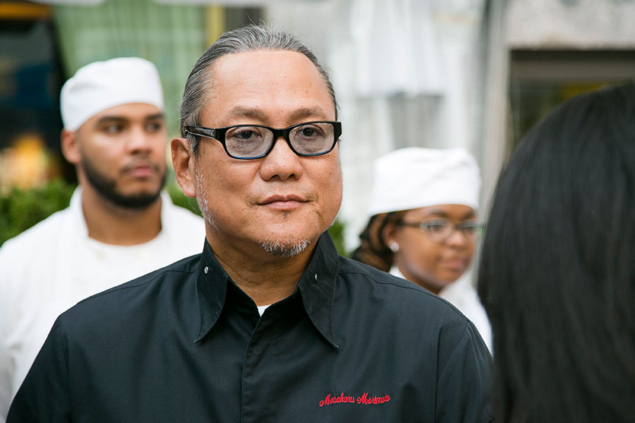 Chef Masaharu Morimoto. (Jan Jeklielek/Epoch Times)