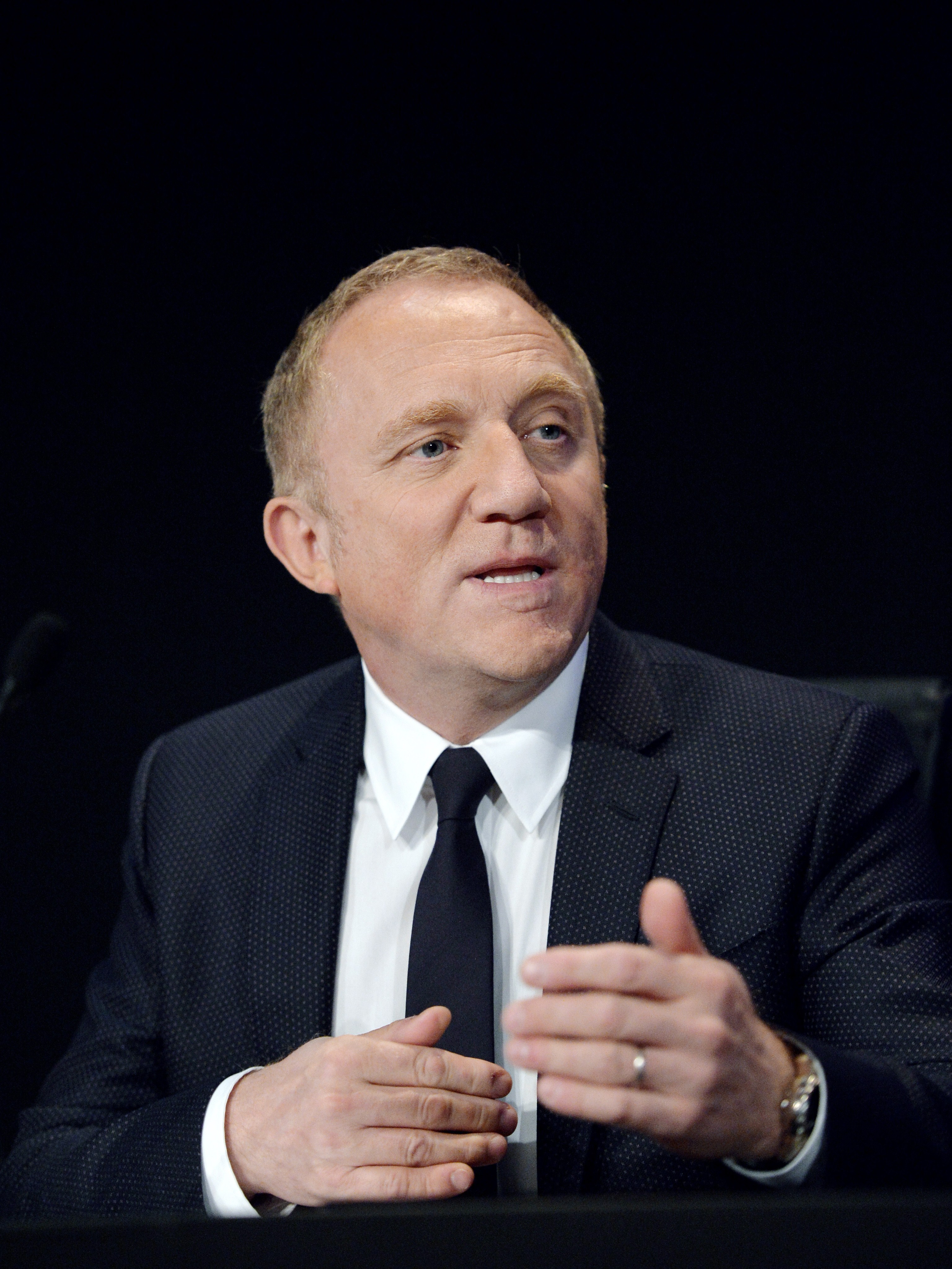 French luxury group Kering CEO Francois-Henri Pinault