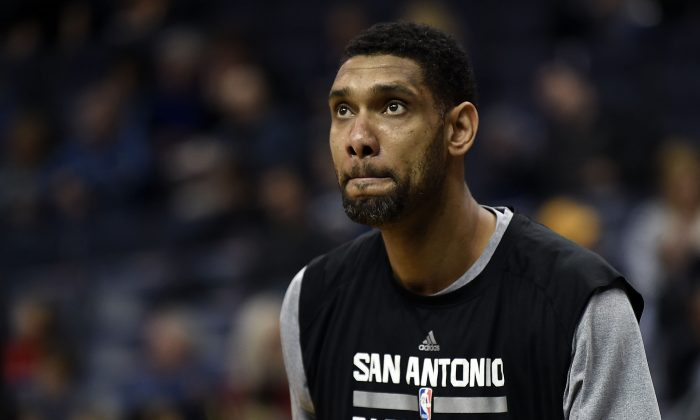 Tim Duncan, now 39, will return for his 19th season with the San Antonio Spurs. (Stacy Revere/Getty Images)