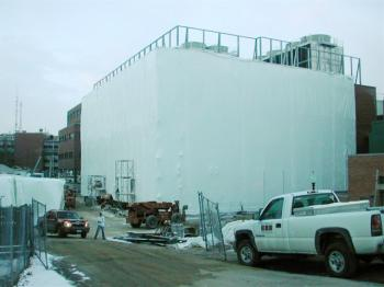 Shrink-Wrapping Buildings a Growing Trend