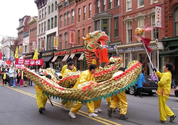 they are pictured in 2006 doing a dragon dance a favorite crowd pleaser at public chinese events the epoch times washingtonthe chinese new year - Chinese New Year Dc