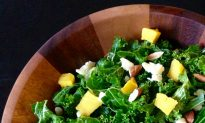 Warm Cauliflower 'Couscous' With Herbs and Kale