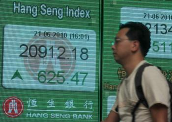 Global Markets Get Boost From Yuan Appreciation