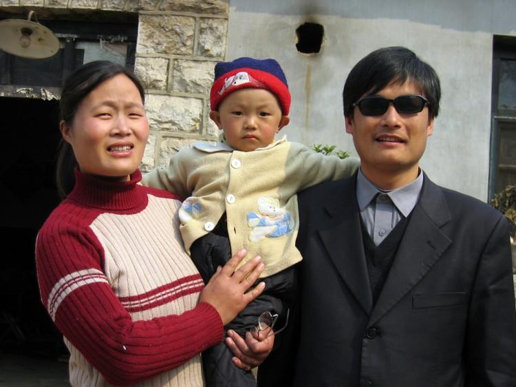 Chen Guangcheng Receiving Passport in 15 days