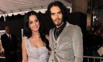 Katy Perry Accompanies Russell Brand to 'The Tempest' Premiere