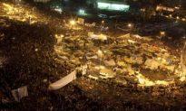Hosni Mubarak Announcement Draws Throngs of Anxious Protesters