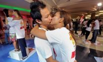 Longest Kiss Record Broken in Thailand for Valentine's Day