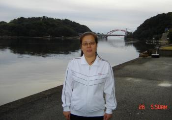 Falun Gong practitioner Wang Yuqing was given a visa after her third attempt, but was arrested by police after they found out and put in a force labor camp for a year and a half. Currently, Ms. Wang lives overseas.  (Courtesy of Wang Yuqing)
