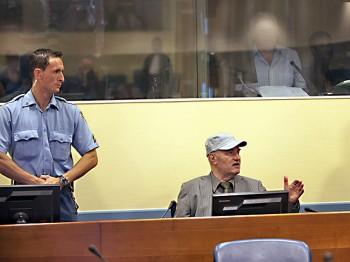 No Indication Mladic Terminally Ill