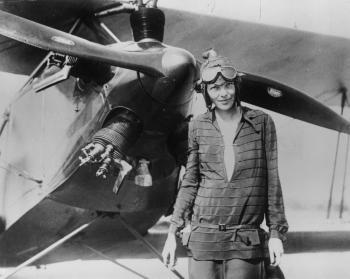 Amelia Earhart: Anniversary of Amelia Earhart Flight Across the Pacific