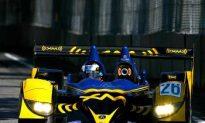 Montagny's Acura Beats Porsche, Audi at Detroit ALMS Race