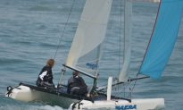 F18's Competitive in the Hong Kong Island Race