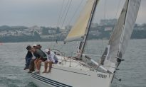 Hebe Haven Yachting Saturday Series at Mid-Point