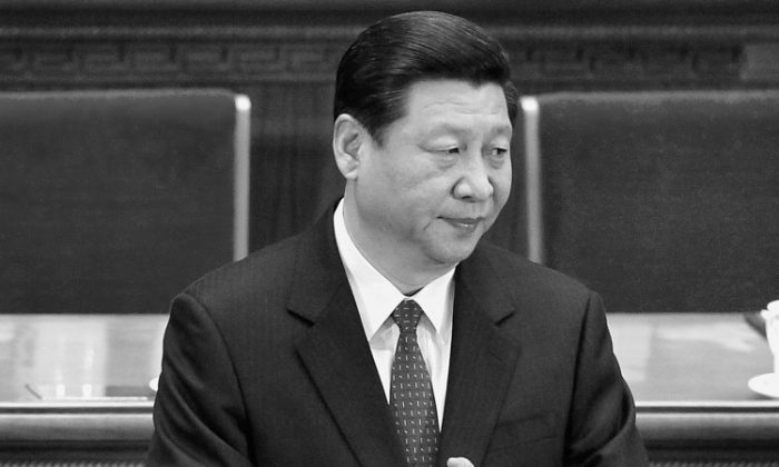 The presumptive next head of the CCP, Xi Jinping, pictured on March 13 in the Great Hall of the People, in Beijing. (Lintao Zhang/Getty Images)