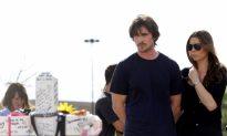 Christian Bale Visits Aurora Following 'Dark Knight' Shootings