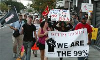 Occupy Tampa: Smaller Crowd, Same Concerns