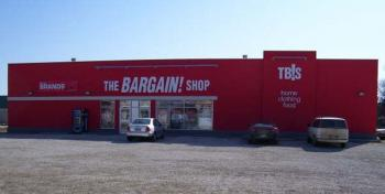 Saan Gobbled Up by The Bargain Shop