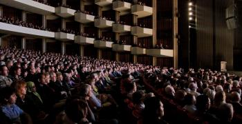 Shen Yun Performing Arts played to a sold-out crowd at the National Arts Centre in Ottawa on Jan. 11, 2010. (Qiumu/The Epoch Times)
