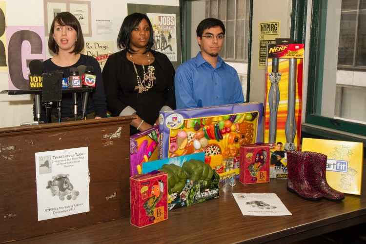 Student Group Warns of Potentially Unsafe Toys