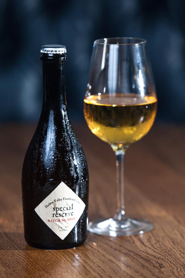 Hudson Valley Apple Cider bottle. (Petr Svab/Epoch Times)
