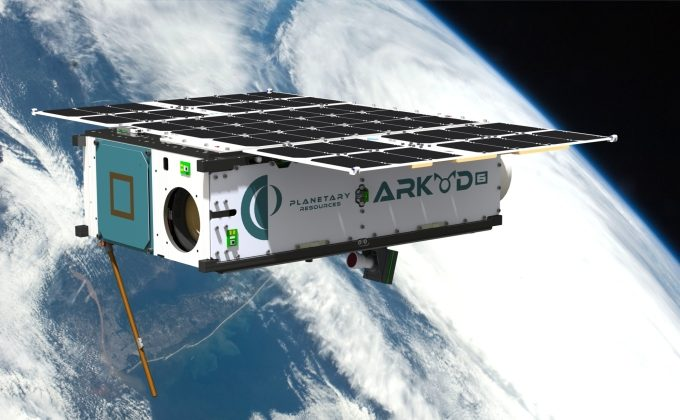 The Arkyd 6 prospector craft is launching later this year (Planetary Resources).