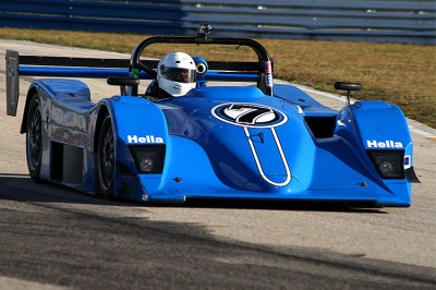 Multimatic won the LMP675 class at Le Mans in 2000 with a Lola B2K similar to this one. (James Fish/The Epoch Times)