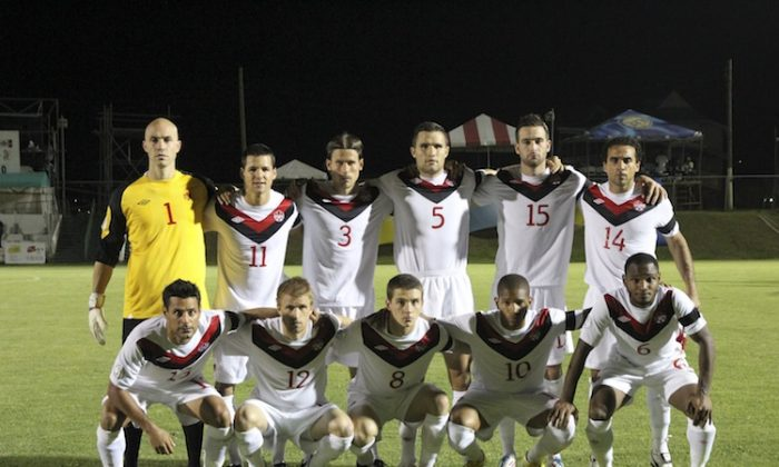 Canada's men's national soccer team recorded a scoreless draw in St. Kitts and Nevis to advance to Round 3 of World Cup 2014 qualification. (CanadaSoccer)