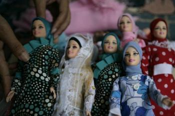Iran Threatened by 'Evil Doll'