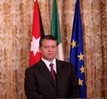 King of Jordan Pessimistic About Mid-East Peace