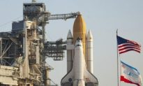 Kennedy Space Center Rolls Out Atlantis