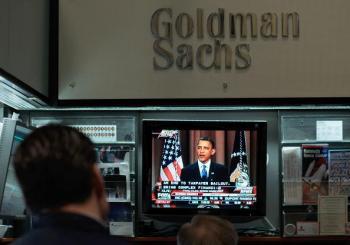 Shareholders Sue Goldman Sachs