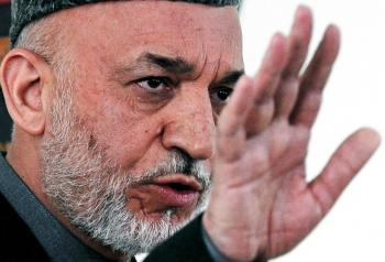 Afghan President Blames Election Fraud on Foreigners