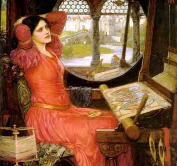 A reading of an extract from The Idylls of the King by Tennyson
