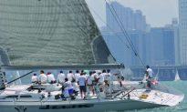 Racing Among Cargo Boats