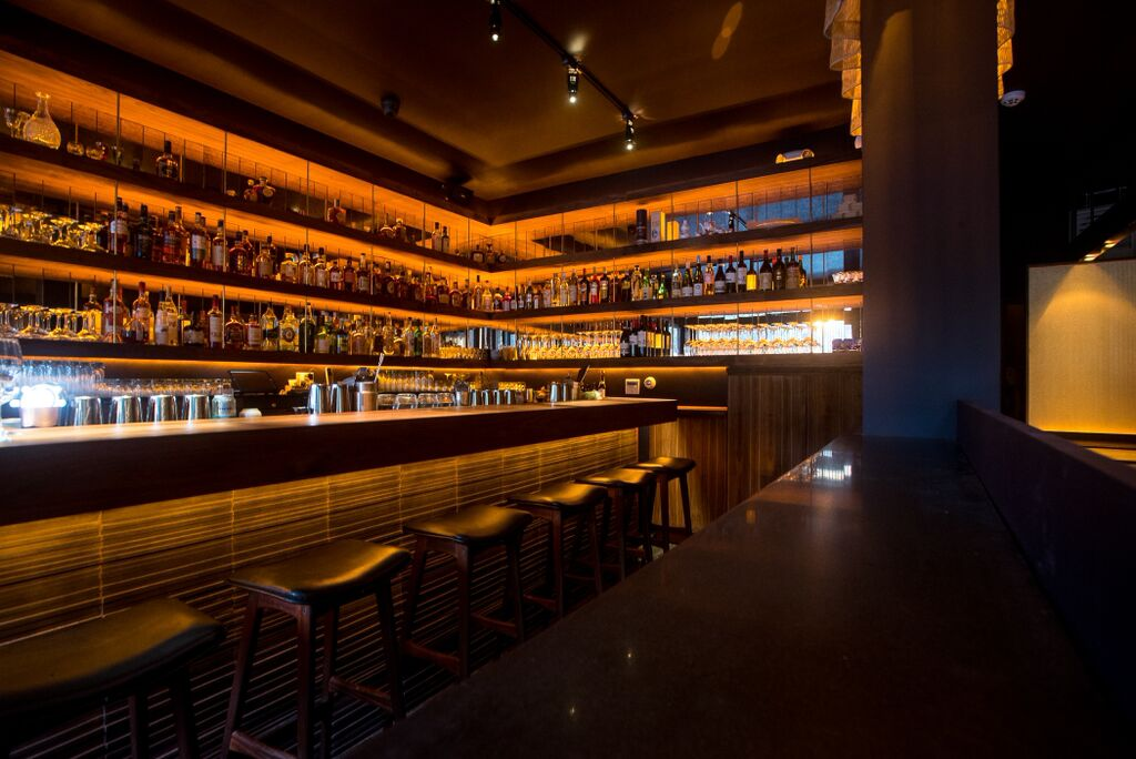 Bar Goto, located on the Lower East Side, opened on Tuesday. (Gabi Porter)