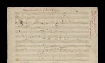 Autographed Beethoven Sketch Leaf on Auction Block