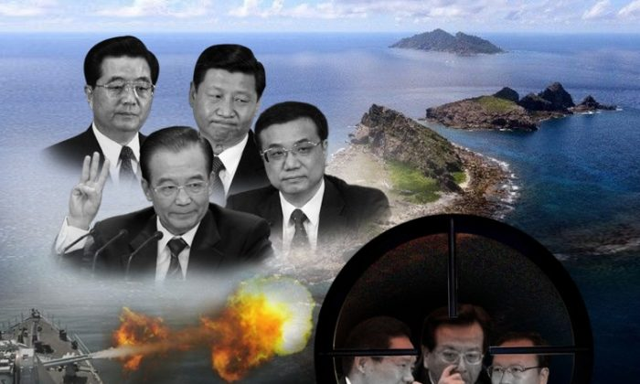 Jiang's Faction is in the crosshairs as factions jockey for power. (Composite image by The Epoch Times)