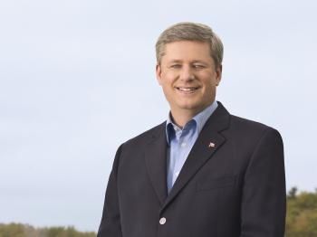 Stephen Harper, Prime Minister of Canada. (Courtesy of the Prime Minister's Office)