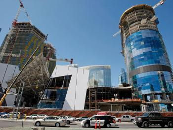 Ambitious CityCenter Project Becomes Symbol of Vegas' Woes