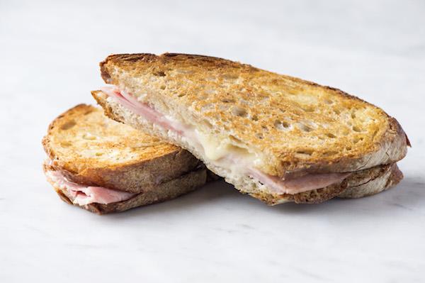 Croque Monsieur's Mr Henry sandwich. (Evan Sung)
