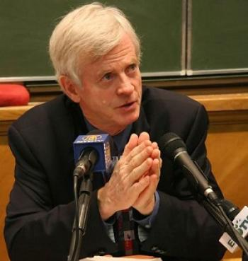 David Kilgour, former Canadian MP and Secretary of State for Asia-Pacific, has been nominated for the Nobel Peace Prize, together with Canadian Lawyer David Matas, for their human rights work, in particular their efforts to disclose organ harvesting from  (Courtesy of David Kilgour)