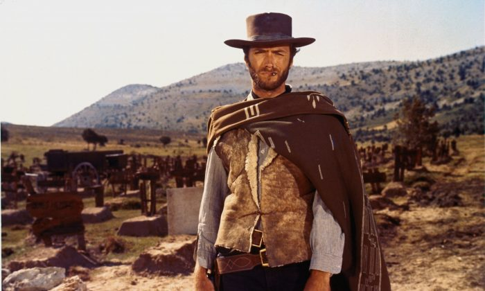 Clint Eastwood, playing the Man With No Name, was launched to the A-List in large part thanks to his role in The Good The Bad and The Ugly.  Now the iconic music from the film is being weaponized to taunt North Korea. (United Artists)