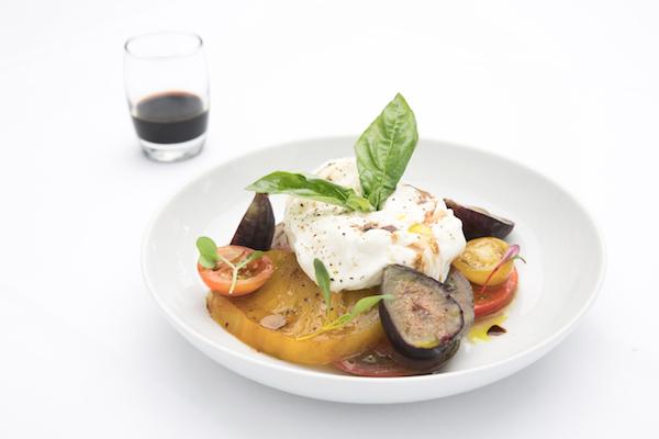 Burrata & Heirloom Tomato Caprese. (Courtesy of Fig & Olive)