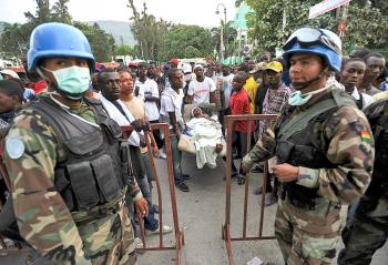 Chaos and Security Concerns in Haiti