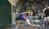 Injury and Drama in Men's HK Squash Open Quarter Finals