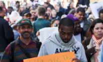 Hundreds March Length of Manhattan in Occupy Protest
