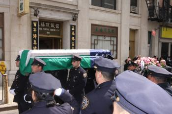 NYPD Officer's Body Taken After Wake for Investigation