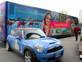 India Takes Tourism Advertising to the Streets